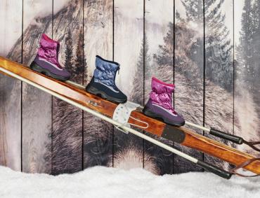 Winter Look с Обувью Skandia