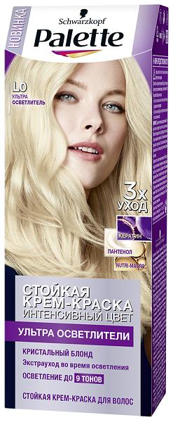 Абсолютный Блонд с Palette