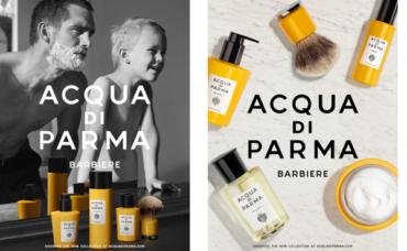 BARBIERE ACQUA DI PARMA Новые Формулы для Истинно Итальянского Ритуала Бритья