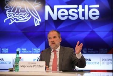 «Нестле» сообщила об укреплении позиций в регионе Россия и Евразия