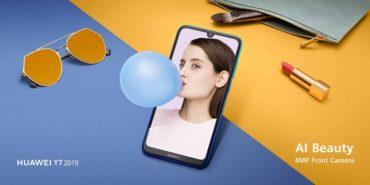 HUAWEI представляет смартфоны Y6 2019 и Y7 2019 в России