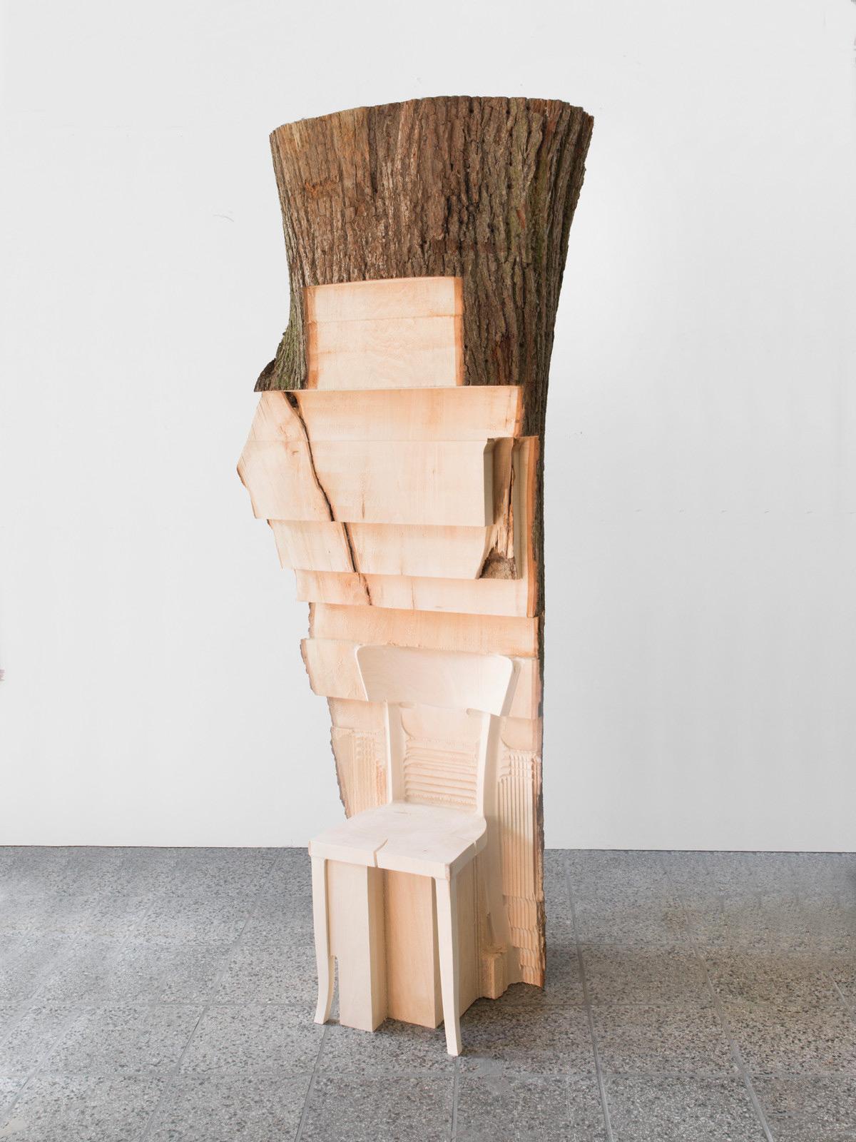 мебель из ствола