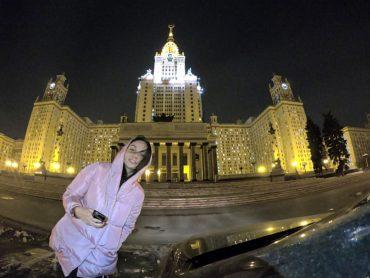 Автосвидания: 6 романтических мест Москвы