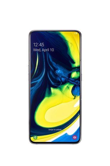 Samsung представляет Galaxy A80 с поворотной камерой