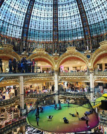 Игровая площадка в одном из магазинов Парижа