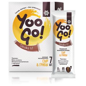 Питательный коктейль Сыр и грибы – Yoo Gо