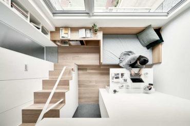 Маленькие апартаменты в столице Тайвани