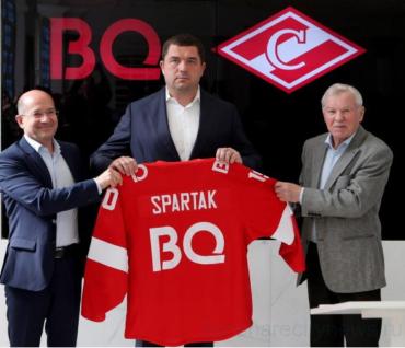 Компания BQ и ХК «Спартак» (Москва) стали партнерами