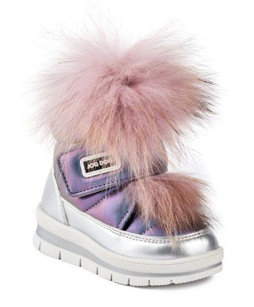 Новые цвета в коллекции обуви Jog Dog осень-зима 2019-2020: «галактические» синий и лиловый