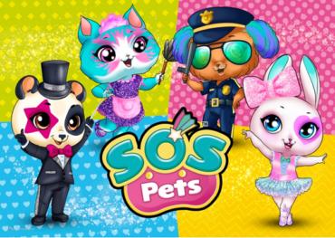 S.O.S. Pets — познавательно-развивающий онлайн-проект с милыми игрушками