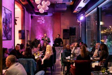 Звезды на гала-ужине в честь открытия ресторана LOGOVO в Хамовниках