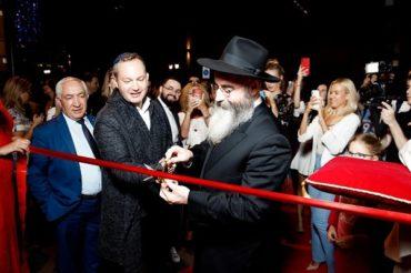 Звезды на открытии бутика еврейской атрибутики David Roytman Luxury Judaica