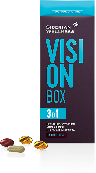 Защищай глаза правильно с Vizion Box