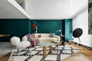 Частная резиденция китайского дизайнера в Чунцине, Китай