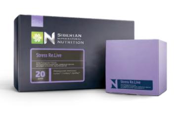 Комплекс Stress Re.Live для защиты нервной системы и профилактики стресса