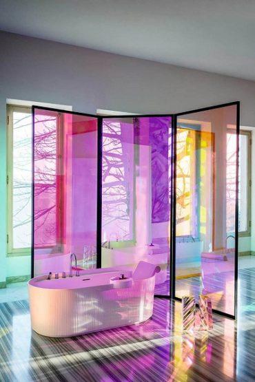Футуристическая коллекция для ванной комнаты SONAR с революционной ультратонкой керамикой