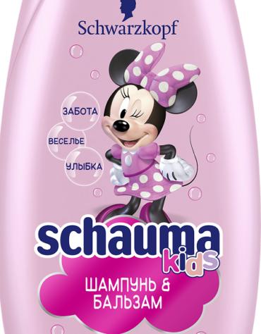 Любимые герои Disney теперь на бутылочках Schauma Kids