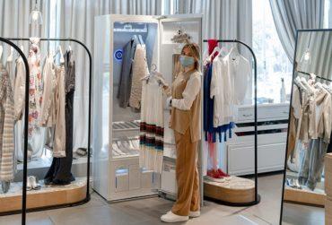 Сотрудничество «Кашемир и шелк» и LG Styler для еще более безопасного шопинга
