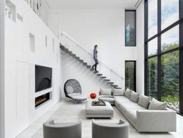 Современный дом в Торонто для любителей музыки