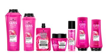Перезапуск бренда Gliss Kur: современная упаковка, улучшенные формулы, лаконичный дизайн
