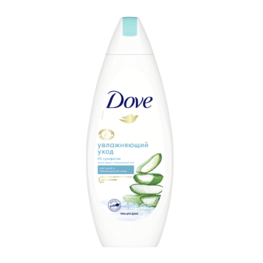 Бессульфатный гель Dove объявлен лучшим средством очищения тела по версии редакции Cosmopolitan