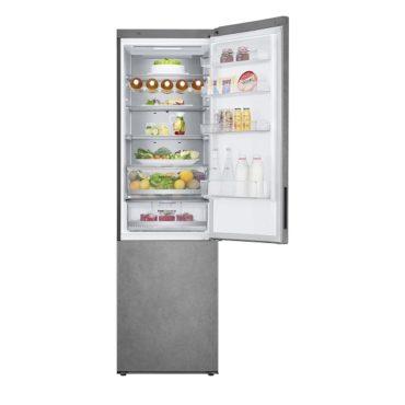 Новый холодильник LG C DOOR COOLING+ в цвете темный мрамор
