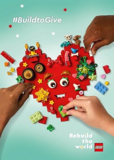 Благотворительная акция #BuildtoGive от компании LEGO Group