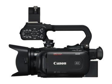 Компактную 4K-видеокамеру Canon XA45  можно приобрести в России