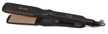 Модная прическа с электрощипцами-гофре VITEK VT-8408