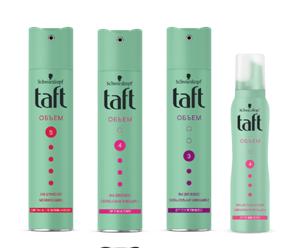 Грандиозное обновление бренда Taft: перерабатываемая упаковка и экологичная формула продуктов