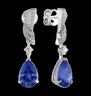 Таинственный синий. Волшебство танзанита в украшениях MIUZ Diamonds