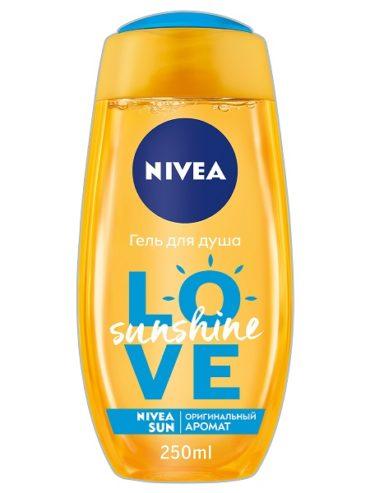 Солнце в бутылке или новинка от NIVEA — гель-уход для душа LOVE SUNSHINE