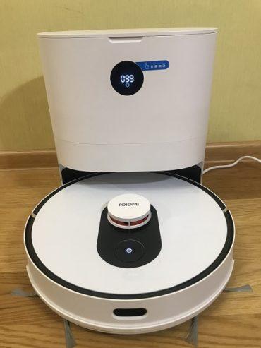 Тестируем новый робот-пылесос Xiaomi ROIDMI Eve Plus