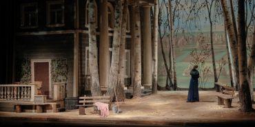 Премьера спектакля «Розовое платье» в МХАТ им. М. Горького