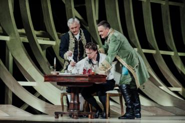 Спектакль о Петре Великом появится на сцене Малого театра