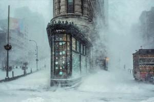 Jonas Blizzard And The Flatiron Building